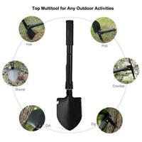 Military Portable Folding Shovel Survival Spade Outdoor-Tool For Camping Hi P5P7