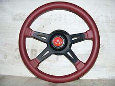 Sportlenkrad Lederlenkrad Abarth 380mm Lancia Delta Fiat Tipo Alf Romeo 145 155