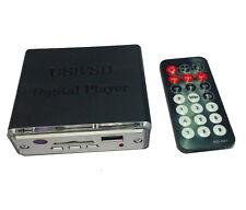 Digital Player MP3 Decoder Board Card Reader+ Remote Monitor Portable For USB SD