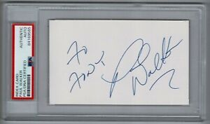 Paul Walker signed autographed index card! PSA! 9561