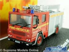 DENNIS RS MODEL FIRE ENGINE BURNHAM ON CROUCH 1:76 SCALE ATLAS OXFORD RED K8