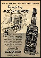 A3/A4 Size - Vintage advertising Jack Daniels Advert old Pub Restaurent Posters