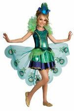 Rubie's Drama Queen Peacock Kids Costume - Multicoloured, Size M