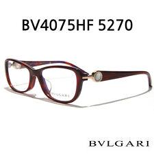 Authentic Bvlgari 4075-H 5270 Top Red Marble Violet Eyeglasses Eyewear 52*16*135