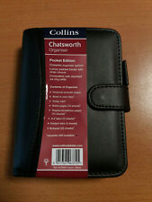 Collins Chatsworth Pocket Organiser Week to View Diary - Black