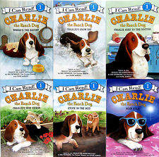 I CAN READ LEVEL 1 CHARLIE THE RANCH DOG 6pk Wheres Bacon,Snow,New Friend,Doc