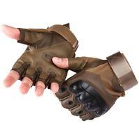 NEW 2020 Army Military Half Finger Glove Tactical Combat Gloves Men Fingerless