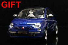 Car Model 1:18 Fiat 500 Lounge (Blue) + SMALL GIFT!!!!!!!