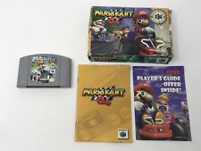 Mario Kart 64 N64 & Manual Complete in Box CIB - Smelly Cartridge Label - Tested