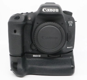 ***Used*** Canon EOS 7D Mark II with Meike battery grip