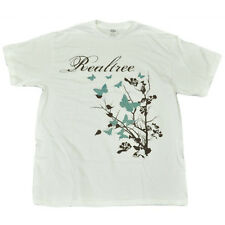 Team Realtree Women Ladies Tshirt Nature Outdoors Glitter Butterflies Large LG