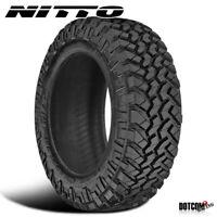 1 X New Nitto Trail Grappler M/T 37X12.5X17 124Q All-Terrain Comfort Tire