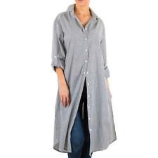 Damenblusen, - tops & -shirts mit klassischem Kragen aus Polyamid in Größe XL
