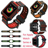für New Watch Series 4 40mm & 44mm Uhrenarmband Armband Strap Band Case Cover