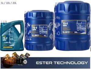 Motoröl MN7101-5l,10,20l MANNOL TS-1 SHPD 15W-40 API CH-4/SL API CH-4/SL ACEA E7