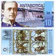 Antarctique 10 dollars 2011 polymère billets UNC
