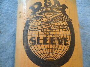 "1932/1942 FORD NOS ENGINE 8 CYLINDER REPAIR SLEEVES FLATHEAD 3 1/16""  221 ENGINE"