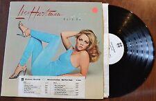 Lisa Hartman Hold On WLP Promo White label Record lp VG++