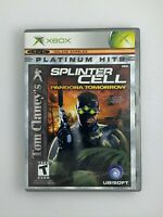 Tom Clancy's Splinter Cell: Pandora Tomorrow - Original Xbox Game - Complete