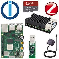 Smarthome Server Raspberry 4 B 4GB RAM mit ioBroker + ZigBee Stick