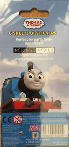 A pack Of Thomas  The Tank & Friends Party Pack of Stickers  6 Sheets