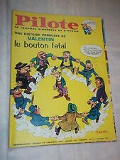"JOURNAL ""PILOTE no 337"" (1966) COUV. TABARY / PILOTORAMA - LES ZOULOUS"