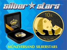 1 OZ China Panda 2011 Gold Black Empire Edition Absolute Neuheit