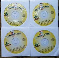 4 CDG KARAOKE DISCS 1980'S-2000'S MEGAPOP HITS SUPERCORE - FALL OUT BOY CD+G CD