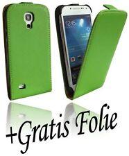 Samsung Galaxy S4 Mini i9195 Tasche Cover Schutz Hülle Handy Schale Chic Grün