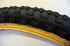 OLD SCHOOL 20X1.75 COMP 3 AMBER WALL BMX/BIKE/CYCLE TYRE NEW
