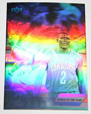 Larry Johnson 1992-93 Upper Deck Hologram ROOKIE OF THE YEAR Basketball Card