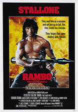Rambo: First Blood Part II (1985) Sylvester Stallone movie poster print 3