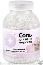7888 Bath Sea Salt with Magnesia Calming & Relaxing Effect 1000g Home Doctor