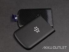 BLACKBERRY Q10 - Akkudeckel Cover Back Gehäuse mit NFC - SCHWARZ / ORIGINAL