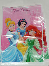 Disney Princess Birthday Party Supplies Loot Lolly Treat Bags- Pack 8