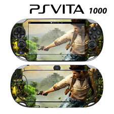 Vinyl Decal Skin Sticker for Sony PS Vita PSV 1000 Uncharted Golden Abyss