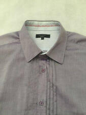 Ted Baker No Pattern Cotton Single Cuff Men's Formal Shirts