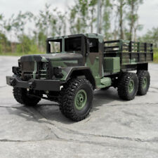 RTR 1/16 2.4G 6WD RC Car MN-77 Off-Road Military Truck Crawler Remote Control
