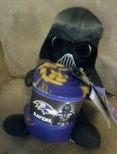 NFL Baltimore Ravens Star Wars Darth Vader Hugger Plush & Fleece Blanket 40 x 50