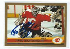 Fred Brathwaite Signed 1999/00 Topps Card #108