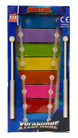 Mini Metal Xylophone With 8 keys and 2 Musical Instrument Fun And - Colourful