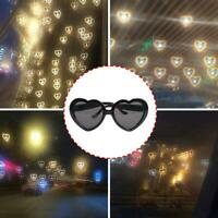Light Heart Special Effects Eyeglasses Peach Heart Light Glasses Creative Gifts