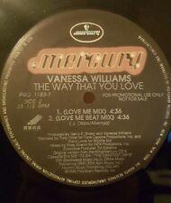 "Vanessa Williams - The Way That You Love 12"" 33RPM Vinyl Record PRO 1183-1"