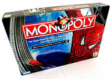 Monopoly: Spider-Man Board Game (2006) Parker Brothers Marvel
