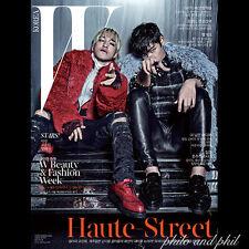 T.O.P TOP TAEYANG COVER: W Korea November 2014 BigBang Big Bang Tang Wei