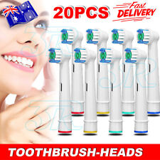 20x Replacement Toothbrush Electric Brush Heads For Oral B Braun Models Series