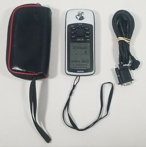 Vintage GARMIN 76 HANDHELD GPS.  TESTED & WORKING