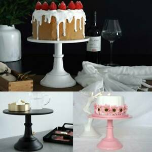 10Inch WEDDING CAKE STAND Round Metal Event Party Display Pedestal Plate Tower