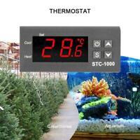 STC-1000 Digital AC 110-220V Temperaturregler Thermostat Aquarium K9X5