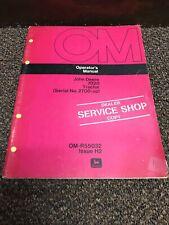 Original Genuine John Deere 7020 Tractor Operators Operation Manual